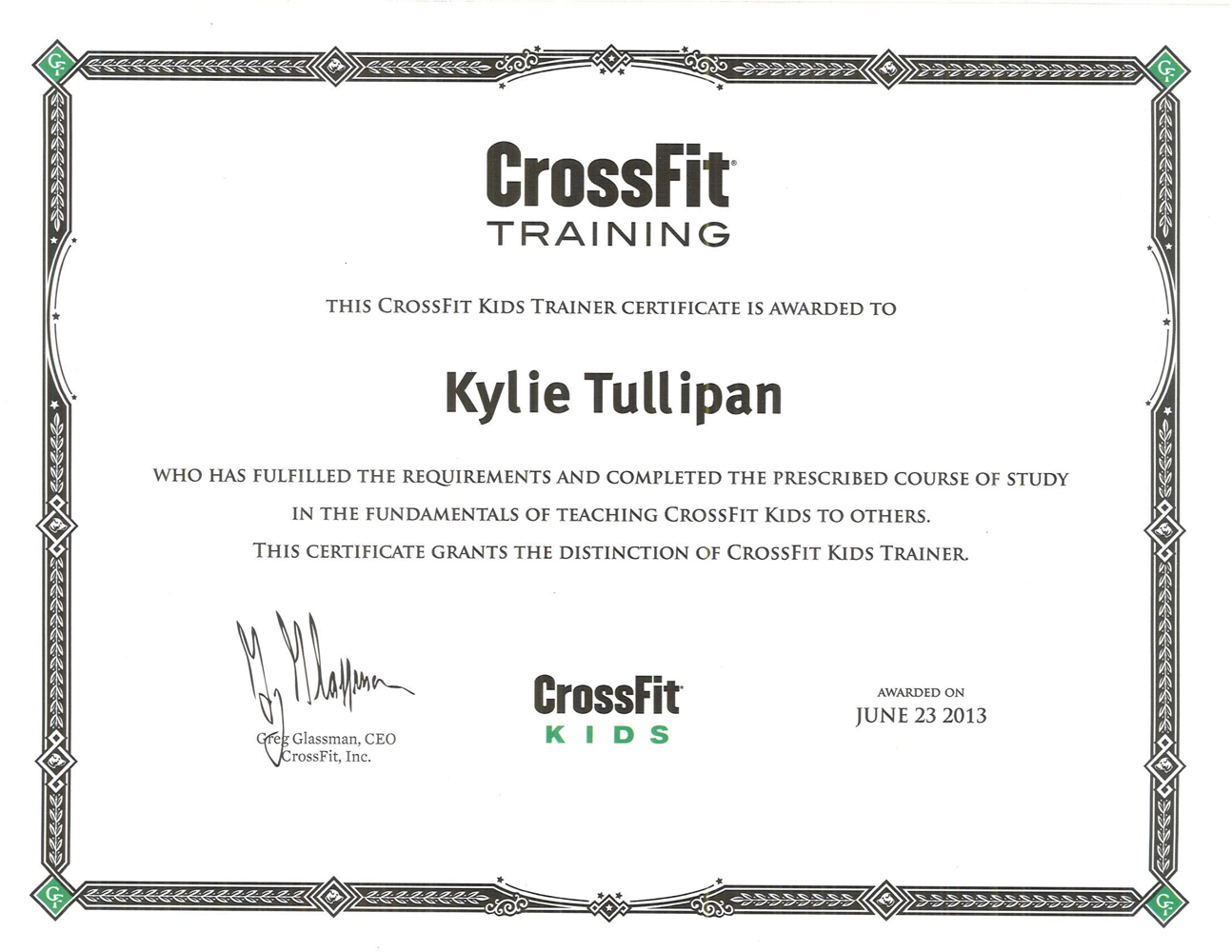 CrossFIt-Kids-and-Level-1-certificates---Kylie-Tullipan-2-2